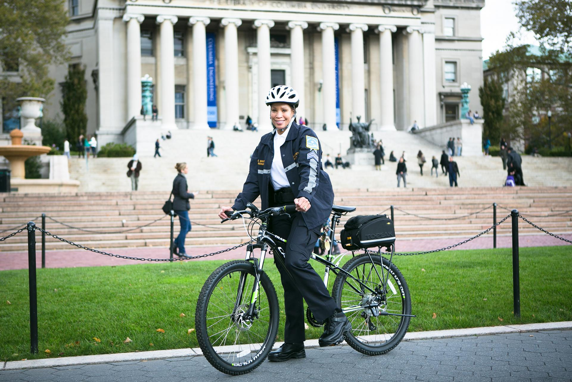 Public Safety Officer on Bicycle Patrol