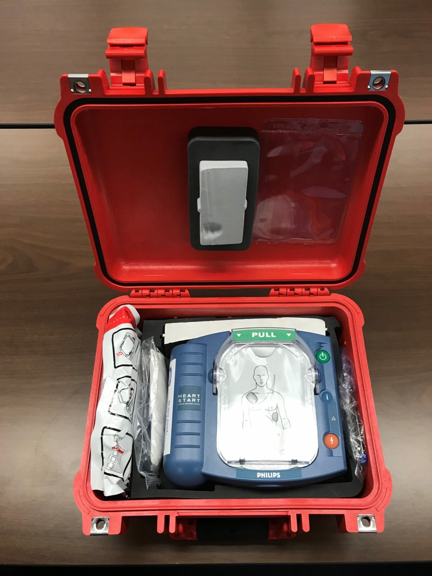 Automated external defibrillators (AEDs) can help save lives on campus in the event of cardiac health emergencies