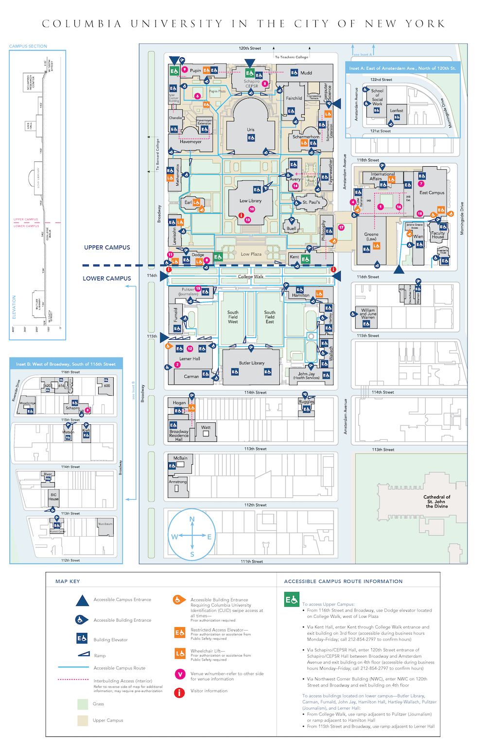 Disability Access Map (Morningside)