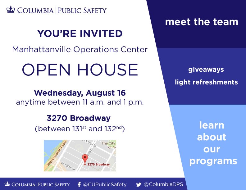 public safety manhattanville operations center open house