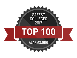 top 100 safest colleges